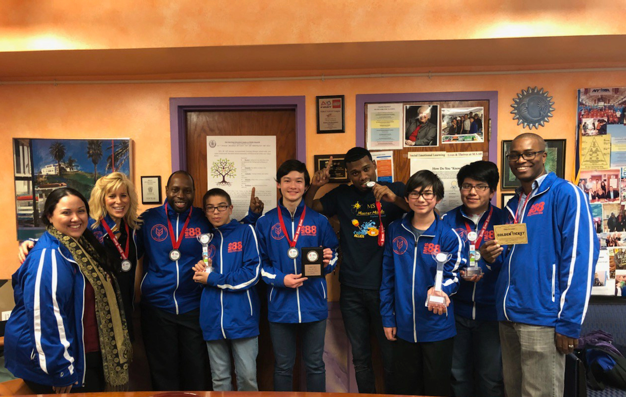Lego Masterminds won 1st Place at Lego League Brooklyn