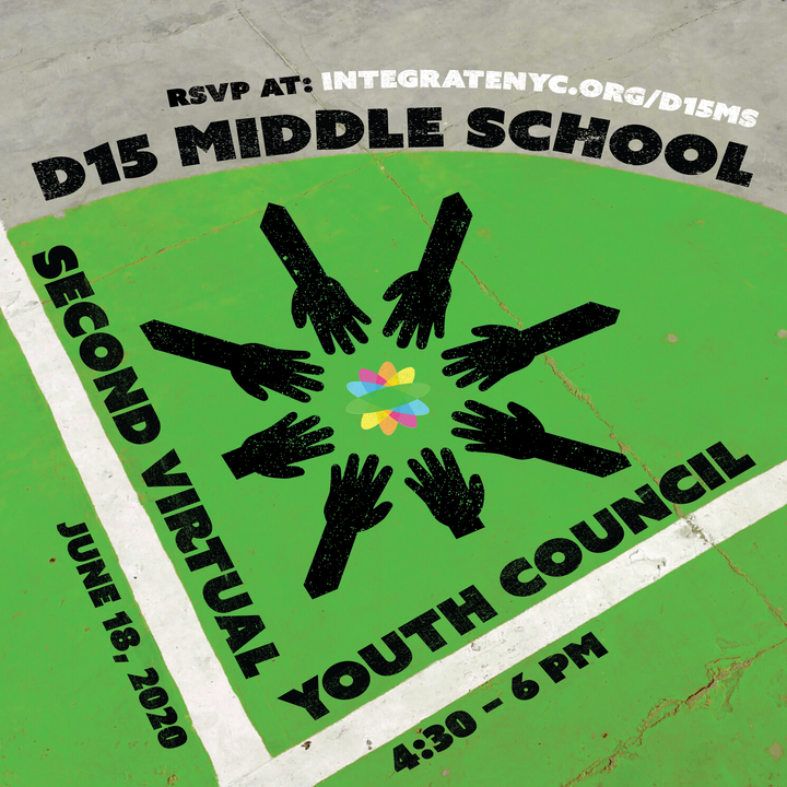 d15 Middle school 2nd virtual youth council. June 18th 4:30-6pm