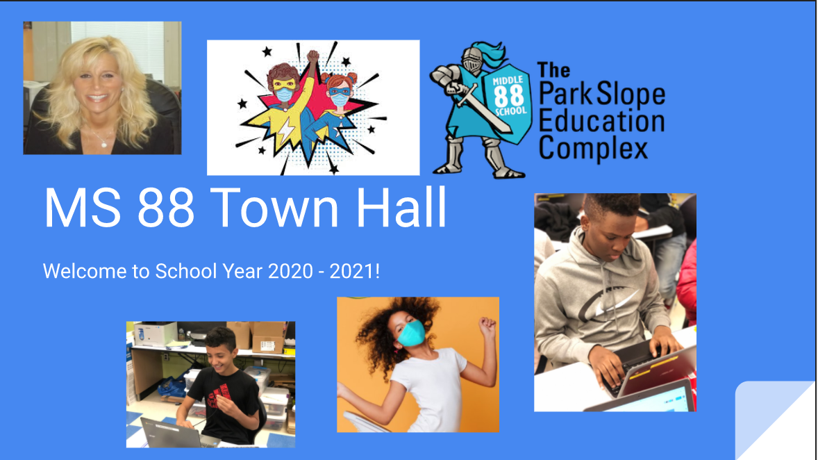 town hall Google Slide
