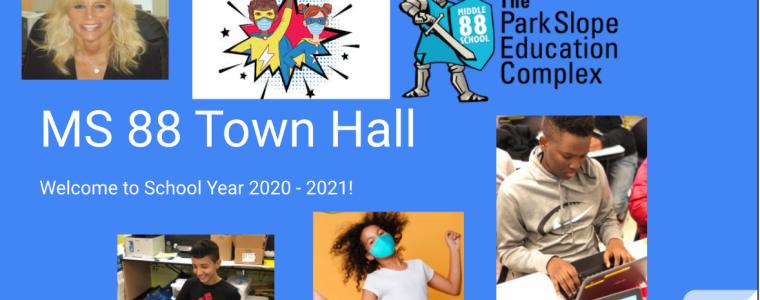 town hall Google Slide